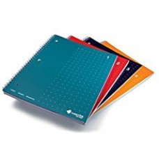 Livescribe 8.5 x 11 Single-Subject Assorted Notebook #1-4 4 Pack