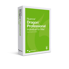 Dragon Professional Individual for Mac, v6 DVD