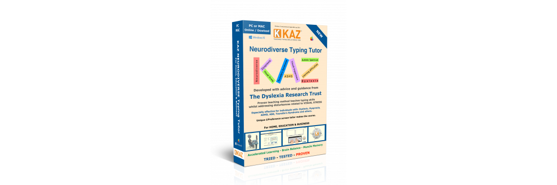 KAZ Neurodiverse Typing Tutor