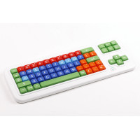 Clevy Keyboard - Big Keys Colour