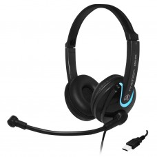 Andrea EDU-255 USB On-Ear Stereo Headset