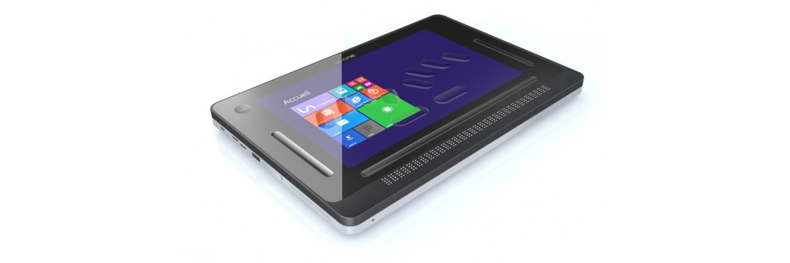 InsideOne Braille Tactile Computer Tablet - Windows 10 OS