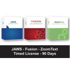 JAWS / Fusion / ZoomText Timed License (90-Days)