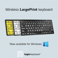 Logic Extra Large XL Print - Bluetooth Mini Keyboard (3 colour variations available)