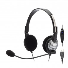 Andrea NC-185VM USB On-Ear Stereo Headset