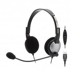 Andrea NC-185VM USB On-Ear Stereo Headset